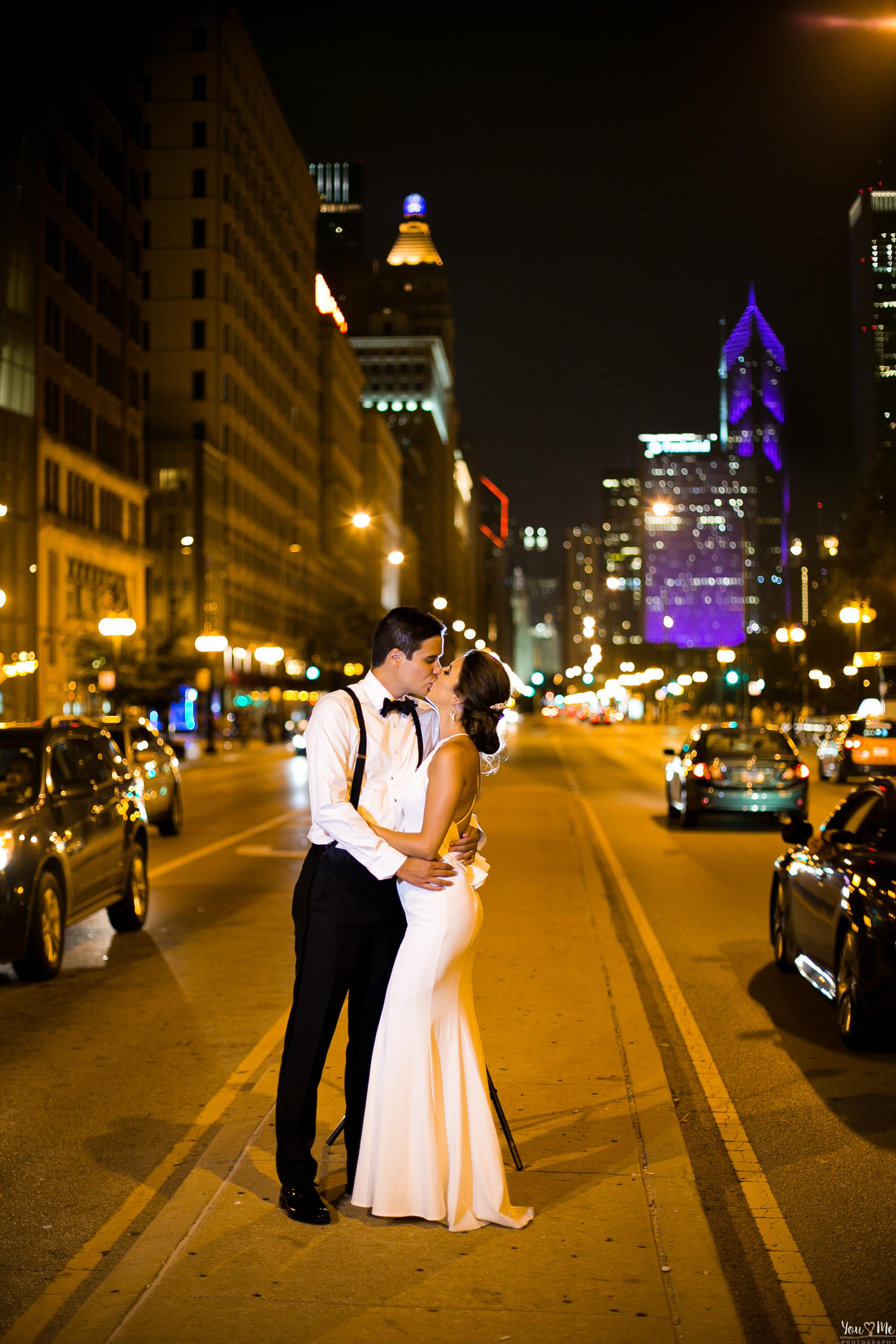 Superb, The Blackstone Hotel, Chicago Wedding Day