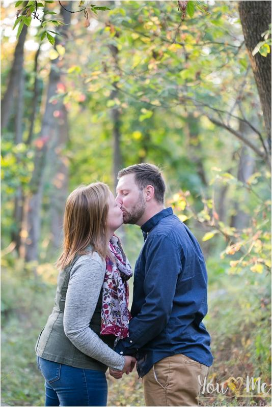 Forest Preserve Chicago Fall Engagement Session