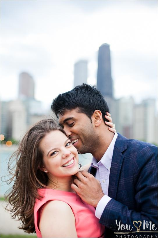 Superb Lily Pond Chicago Engagement Session