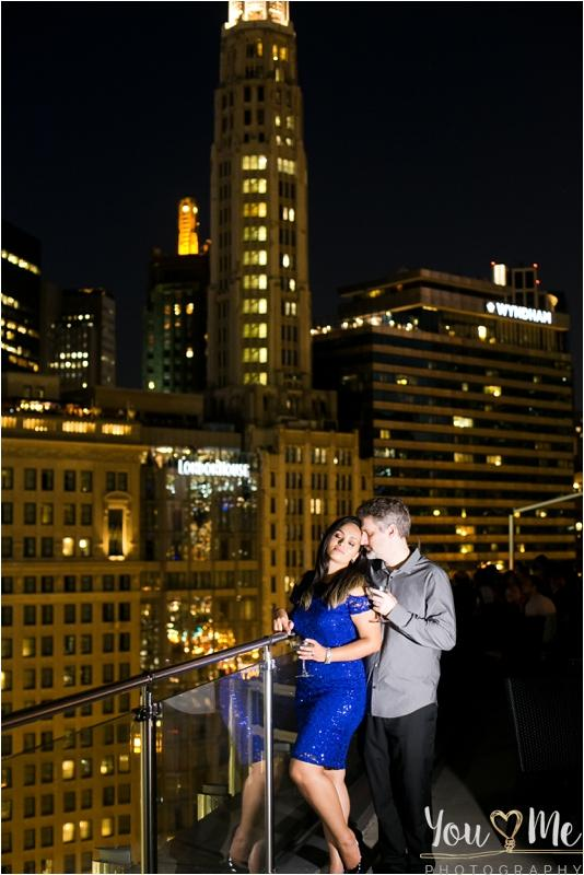 Ravishing Downtown Chicago Engagement Session