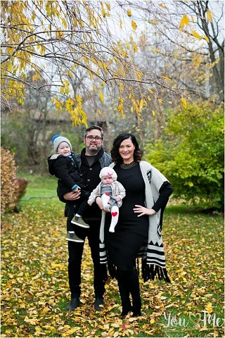 Charming, family of four, West Dundee Session
