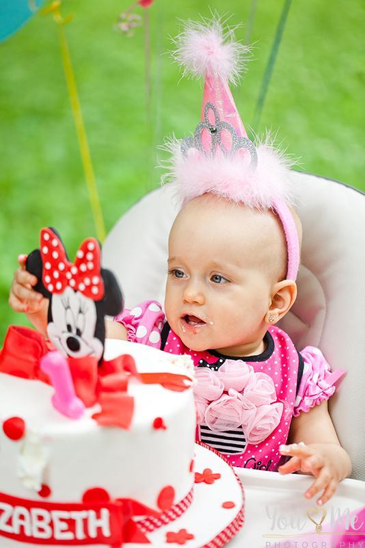 Baby Birthday Chicago Photo Shoot